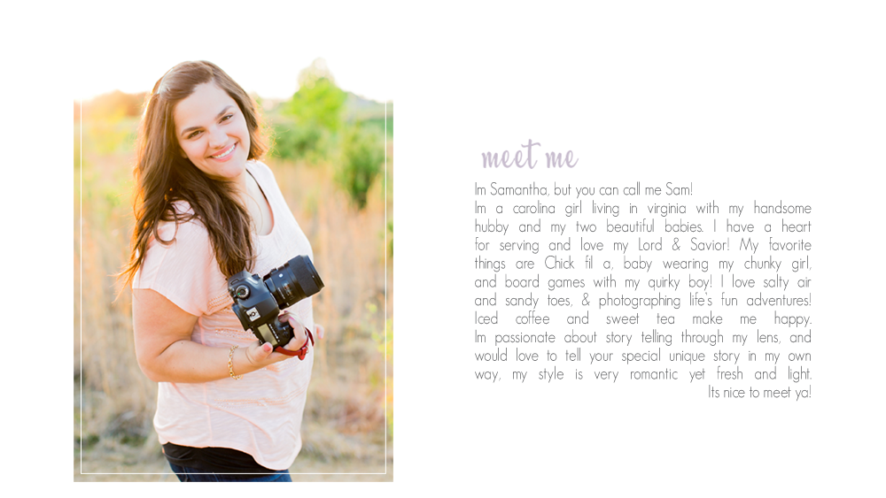 About Me 187 Samantha Martin Photographer